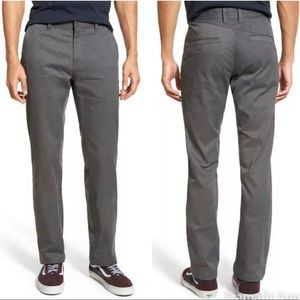 Volcom freaking mod stretch gray heathered slacks